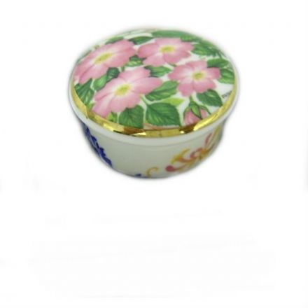 Trinket Box, Fine Bone China, by Albertine
